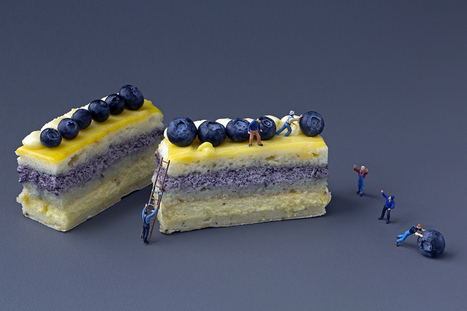 Big Appetites With Miniature Toys Photographs (Christopher Boffoli)   mameara   Scoop.it