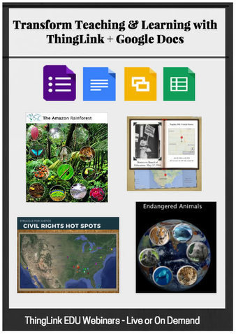 Transform Teaching & Learning with ThingLink + Google Docs | Cool Tools for 21st Century Learners | Cool Tools for 21st Century Learners | Scoop.it