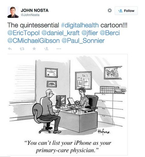 10 Twitter accounts that will keep you up to date with digital health   mHealth- Advances, Knowledge and Patient Engagement   Scoop.it