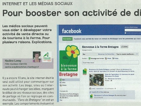 Internet et médias sociaux pour booster son activité de diversification | Animation Numérique de Territoire | Scoop.it