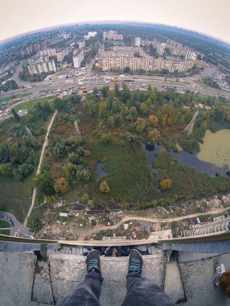 Les URBEX , des explorateurs urbains sans vertige à l'assaut des vues en haut des villes | URBANmedias | Scoop.it