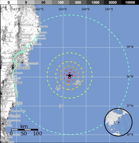 Earthquake - M 7.0 - OFF THE EAST COAST OF HONSHU, JAPAN offshore Fukushima | Japan Tsunami | Scoop.it