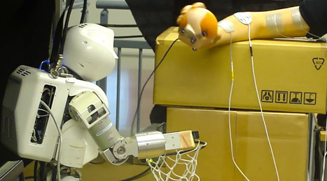 This robot can control your arm using electrodes (video) | Robotics Frontiers | Scoop.it