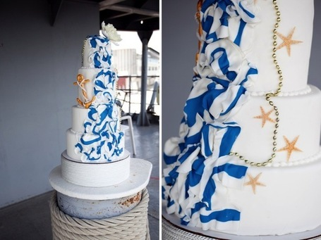 Modern Nautical Wedding Inspiration Every Last Detail Modern Nautical