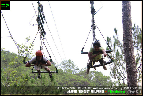 [Baguio] ▬ Superman Zipline Ride Over the Pine Trees | #TownExplorer | Exploring Philippine Towns | Scoop.it