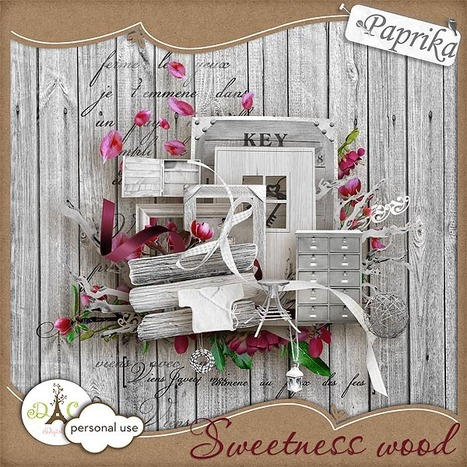 Sweetness wood - C'est Gratuit ! : Digital-Crea.fr | Digiscrap | Scoop.it