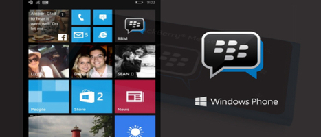 Windows Phone Users Can Download BlackBerry Messenger Beta For Free   Windows Mobile App Mart - Windows Mobile Phone News   Scoop.it