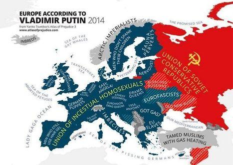 Les pays européens vus par leurs voisins - Libération | Networking the world - Espace et réseaux | Scoop.it