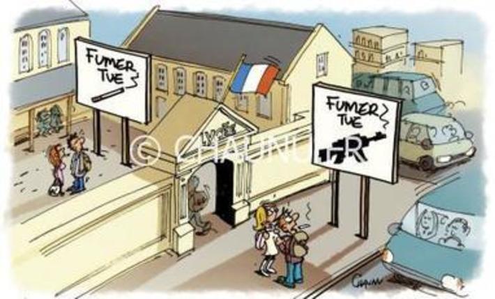 État d'urgence : les coins fumeurs de retour dans les lycées bretons | Baie d'humour | Scoop.it