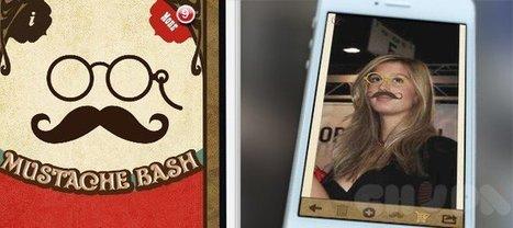 Mustache Bash - Killer Photo Booth App | iOS - iPhone - App - Game - Reskin | Chupamobile | Mobile App Development | Scoop.it