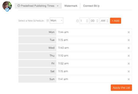 Postcron. Programmer ses publications sur les réseaux sociaux | Les outils de la veille | Les outils du Web 2.0 | Scoop.it