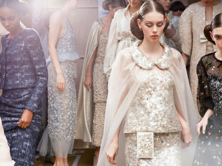 "Chanel Couture Goes ""Green"" For Spring 2016 With Eco-Friendly Looks 