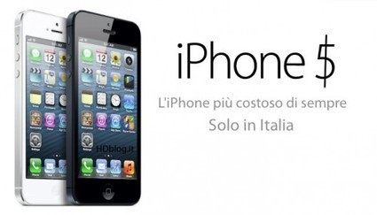 I prezzi di iPhone5: si arriva a 959 euro! | Vita Digitale | WEBOLUTION! | Scoop.it