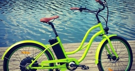 "Green Microcycle Plus: The world's first electric bike that doubles as a pedal generator (""cool!"") 