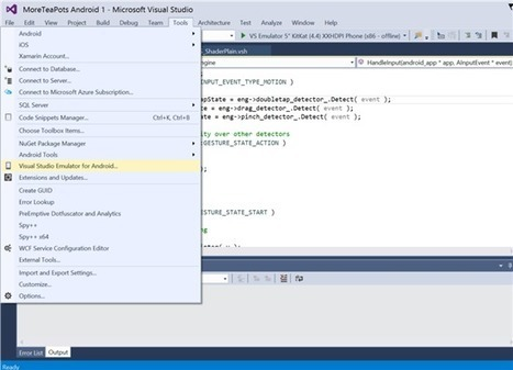 Visual Studio Emulator for Android in VS2015 RC - | Alkampfer's place | Scoop.it