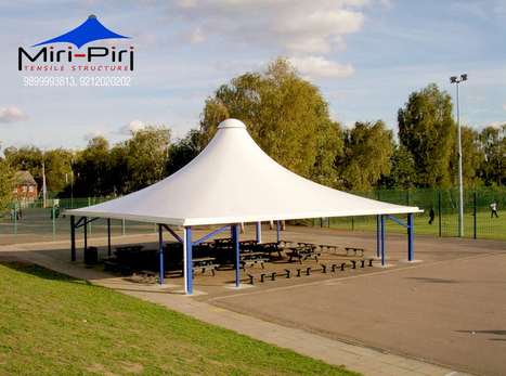Tensile Membrane Structure Manufacturers In india   Awnings and Canopies Manufacturers India   Scoop.it