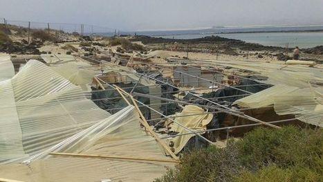 La arena sepulta parte del yacimiento arqueológico de Lobos, que confirmó la presencia de los romanos en Canarias | LVDVS CHIRONIS 3.0 | Scoop.it