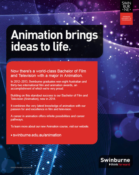 Major in Animation | teaching with technology | Scoop.it