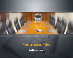 Conference Room PowerPoint Template | Free Powerpoint Templates | Community Management | Scoop.it