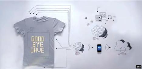 Le tshirt interactif arrive grâce à un impressionnant dispositif technologique | Tendances publicitaires et marketing | Scoop.it