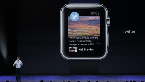 This is Twitter's first vision for the Apple Watch era | Toulouse networks | Scoop.it