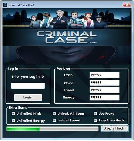 Criminal Case Hack Tool Download - Free Hack and Cheats for games | Top Android and iOS games News | Scoop.it