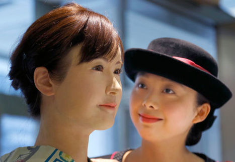 Meet the Humanoid Robot Greeting Retail Customers in Japan Today | Strange days indeed... | Scoop.it