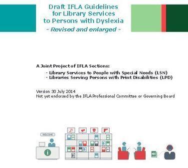 Dyslexie : recommandations pour les bibliothèques | Enssib | Troubles spécifiques des apprentissages | Scoop.it