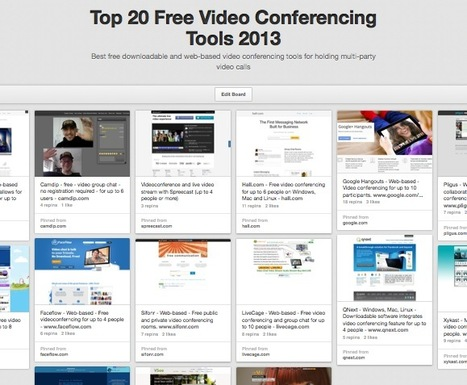 Top 20 Free Video Conferencing Tools 2013 | Useful Tools for E-Learning | Scoop.it