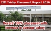 IIM Tiruchirappalli Placement 2016: Record 100% placement with increase in highest & average salary | All About MBA | Scoop.it