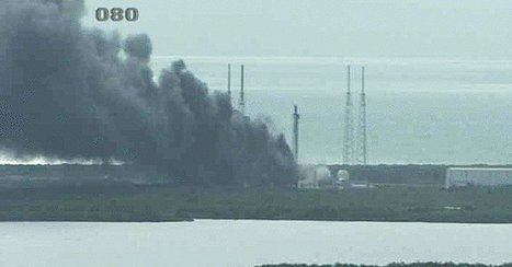 SpaceX Rocket Explodes at Launchpad in Cape Canaveral | Vous avez dit Innovation ? | Scoop.it