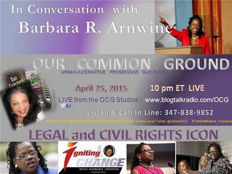 In Conversation with Barbara R. Arnwine, Lawyers' Committee for Civil Rights | SocialAction2014 | Scoop.it