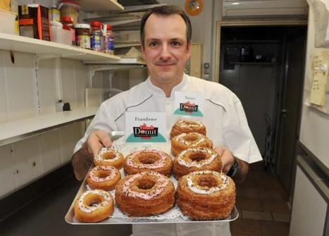 Yannnick Padié lance le donut, croissant américain, à Toulouse | Toulouse et Midi-Pyrénées | Scoop.it