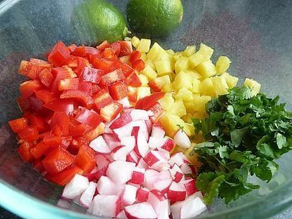 Tangy and Refreshing Pineapple Salsa | BBQ Side Dishes | Best Easy Recipes | Scoop.it