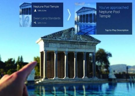 La nouvelle application mobile de visite du Château Hearst inclut la technologie Google Glass | Médias sociaux et tourisme | Scoop.it