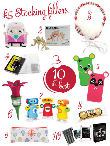 YourHome - Christmas - Stocking fillers under a fiver | Home Interiors | Scoop.it
