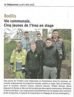 Ireo. Des élèves en stage espaces verts... - Ireo de Lesneven   Facebook   Les MFR dans la presse et sur le Web   Scoop.it