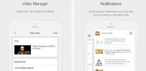 Creator Studio App for iOS: One Stop Shop for YouTubers   InFocus: Video News   Scoop.it