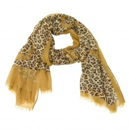 Nalani Animal Print Scarf | scarfuniverse | Scoop.it