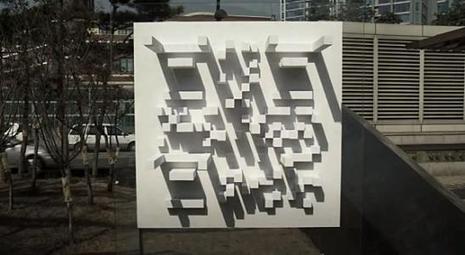 Sunny Sale : Le QRcode solaire - QR dress Code | | Adaptive Architectures | | Scoop.it