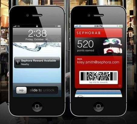Sephora lance son Passbook | Mobility & Financial Services | Scoop.it