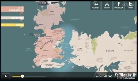 « Game of Thrones » : les quatre premières saisons résumées en 5 minutes | Géographie : les dernières nouvelles de la toile. | Scoop.it