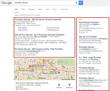 The New Google Local Search Display | SEO Tips, Advice, Help | Scoop.it