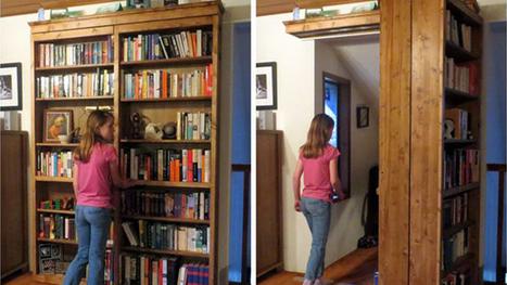 Build a DIY Sliding Door Bookshelf to Hide Your Secret Lair - Lifehacker | Zero1 Nation Magazine | Scoop.it