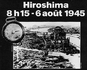 8h15 6 AOUT 1945 : Hiroshima | Racines de l'Art | Scoop.it