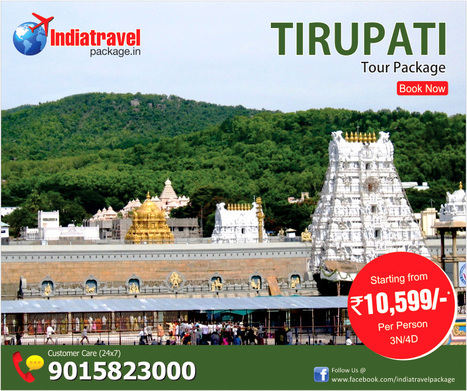 Book online tirupati tour package from noida | travel agent | Scoop.it