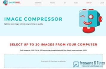 Image Compressor : un outil en ligne pour optimiser ses images ~ Freewares & Tutos | TIC et TICE mais... en français | Scoop.it
