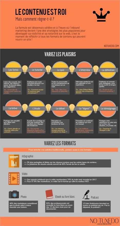 Infographie : les formats de contenu qui captivent les lecteurs | VIP - Votre Image Professionnelle | Scoop.it