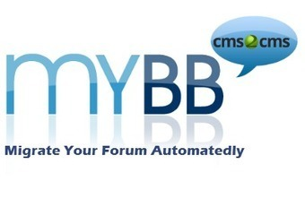 New CMS2CMS Forum Update: Automated MyBB Forum Conversion Support   Forum Migration   Scoop.it