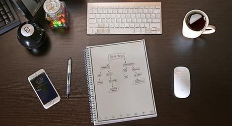 Nuev@s de hoy: cuaderno que envía tus documentos a la nube y se borra en el microondas | Maestr@s y redes de aprendizajes | Scoop.it